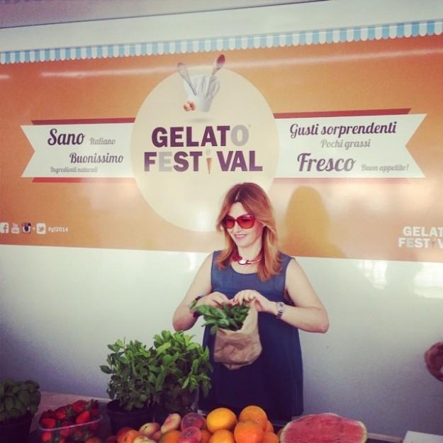 """Valeria, la nostra """"talpa"""" in giuria al festival del Gelato"""